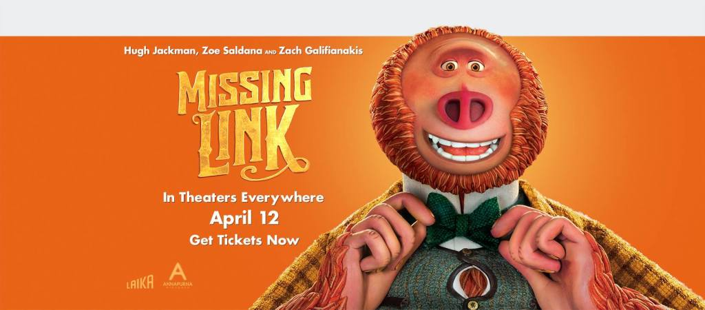 the missing link, the missing link movie, missing link movie review