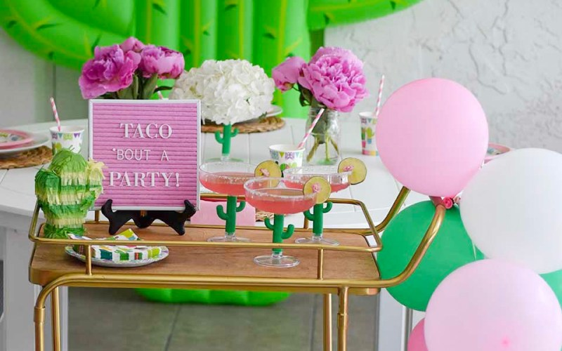 Taco Bout a Party, Fiesta themed Party