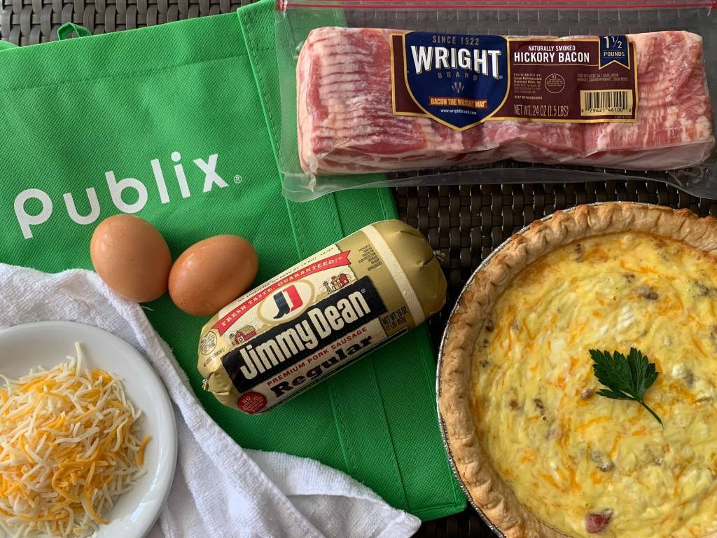 Bacon and Sausage Quiche, sausage and bacon quiche recipe, breakfast quiche sausage, breakfast quiche sausage egg cheese