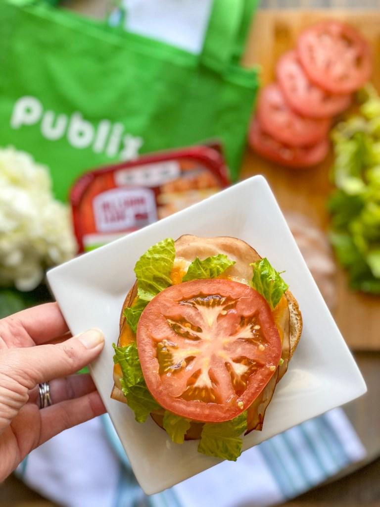 open faced turkey sandwich, open face turkey sandwich