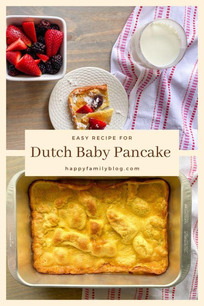 dutch baby pancake recipe what is a dutch baby easy german pancakes