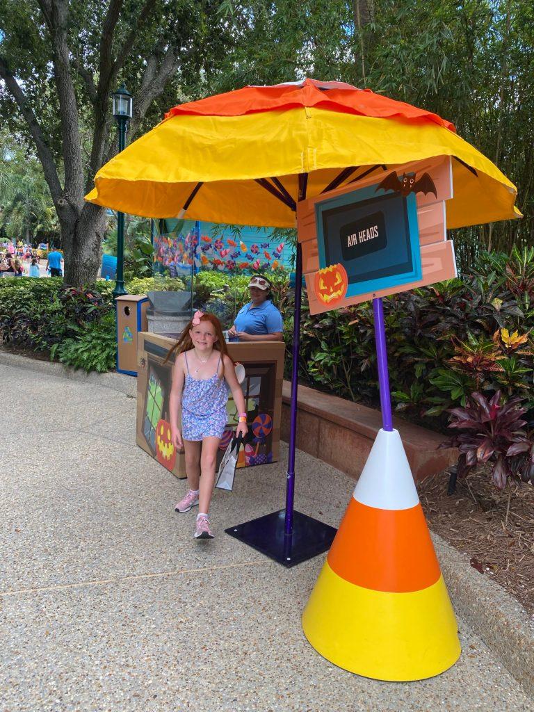SeaWorld Orlando Halloween Spooktacular Trick or Treating