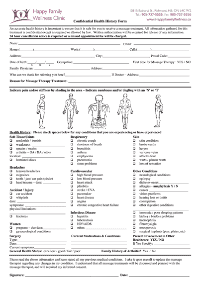 Patient Forms - Happy Family Wellness