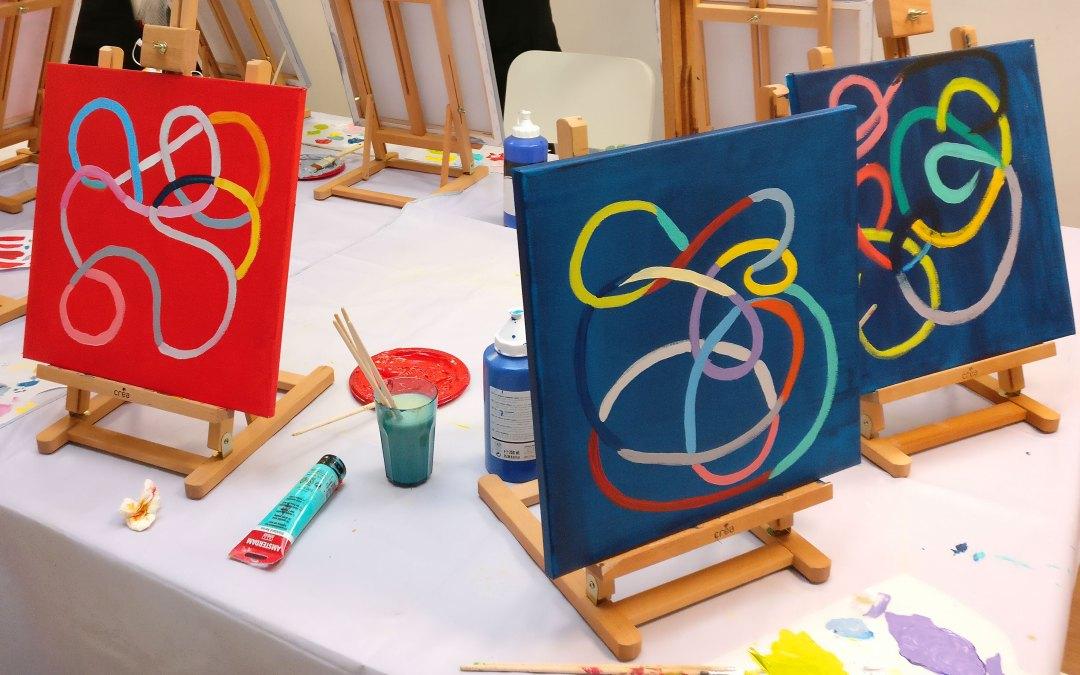Atelier peinture bien-etre Art for me