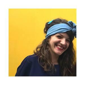 Un headband en double gaze qui donne une classe folle !
