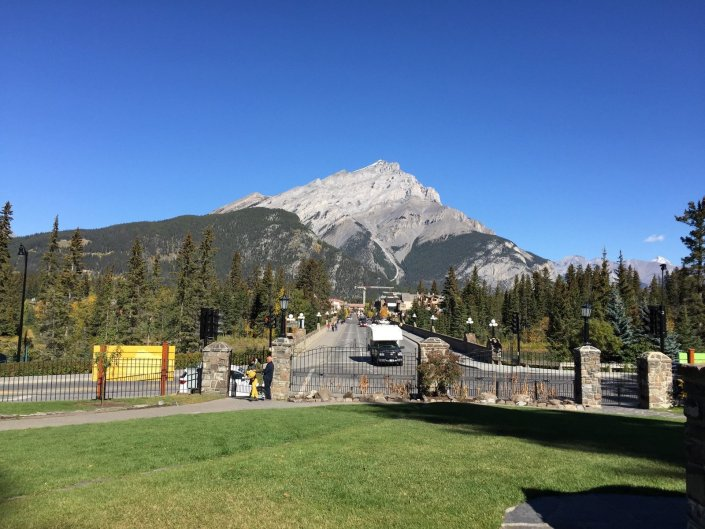 The town of Banff Canada