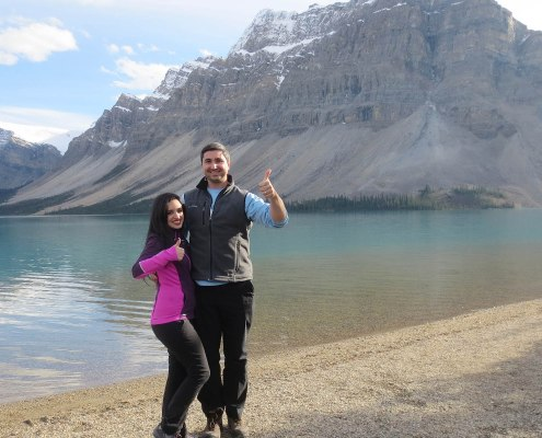 bow lake canadian rockies