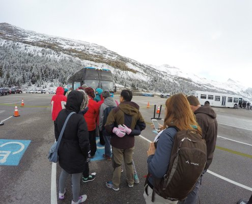 Columbia Icefield Visitor Centre in Canada