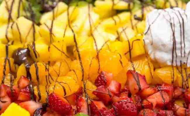 Rainbow Fruit Nachos Happy Food Healthy Life