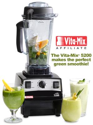 green smoothie vitamix