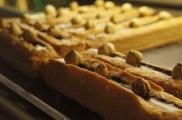 Sablé choco-noisettes & caramel au beurre salé