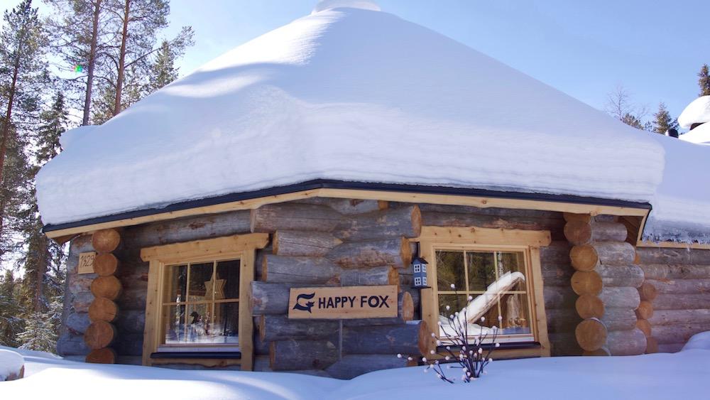 Happy-Fox-Fun-in-Winter-fox-cottage