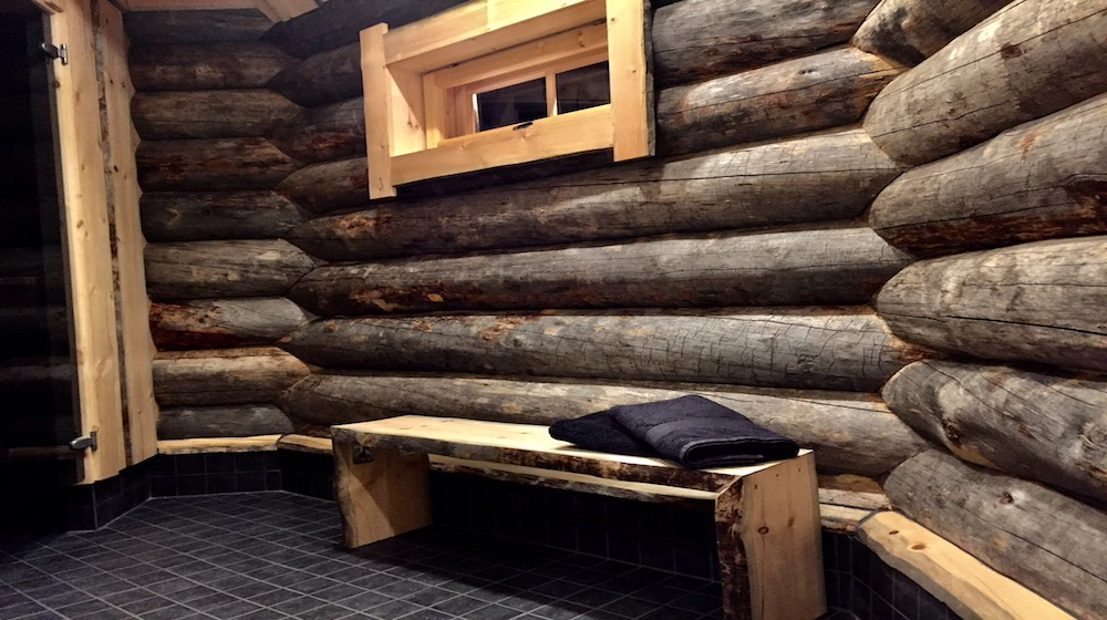 Happy-Fox-Magic-of-the-Forest-and-log-sauna-winter-washroom