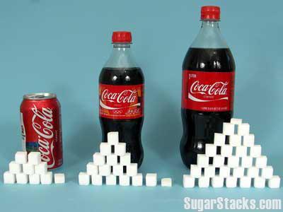 Sugar in coca cola