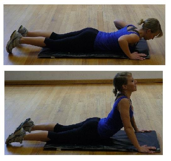 MacKenzie Push Up stretch