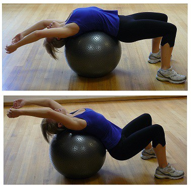 Middle Back stretches