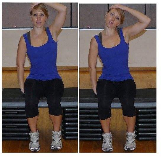 Neck Side Flexion stretches