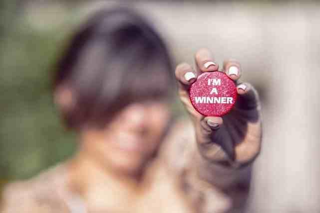 I am a winner not a quitter