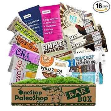 Paleo Gift Box full of great Paleo snacks