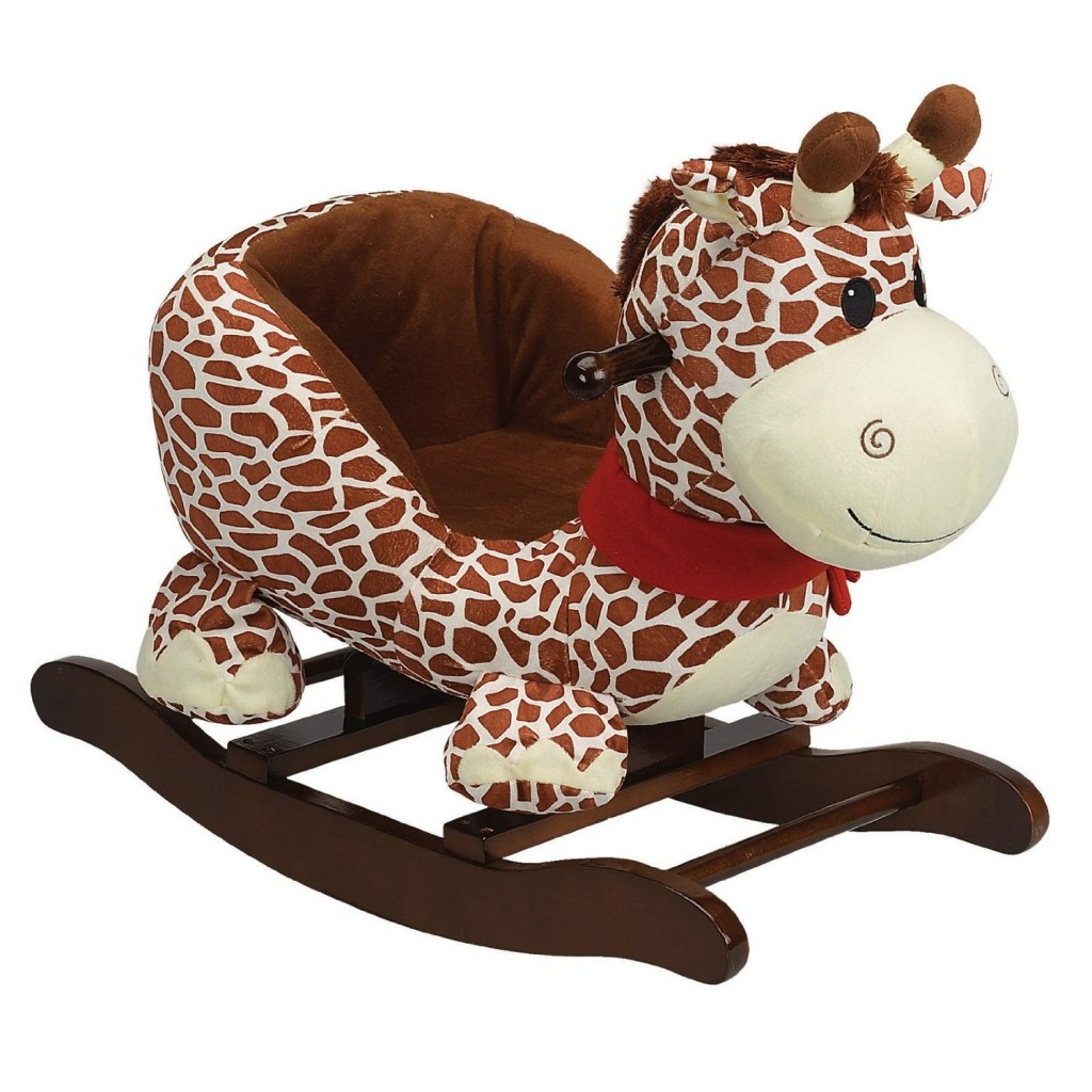Giraffe Rocking Chair 14 Happy Plush Animal Rockers For Toddlers