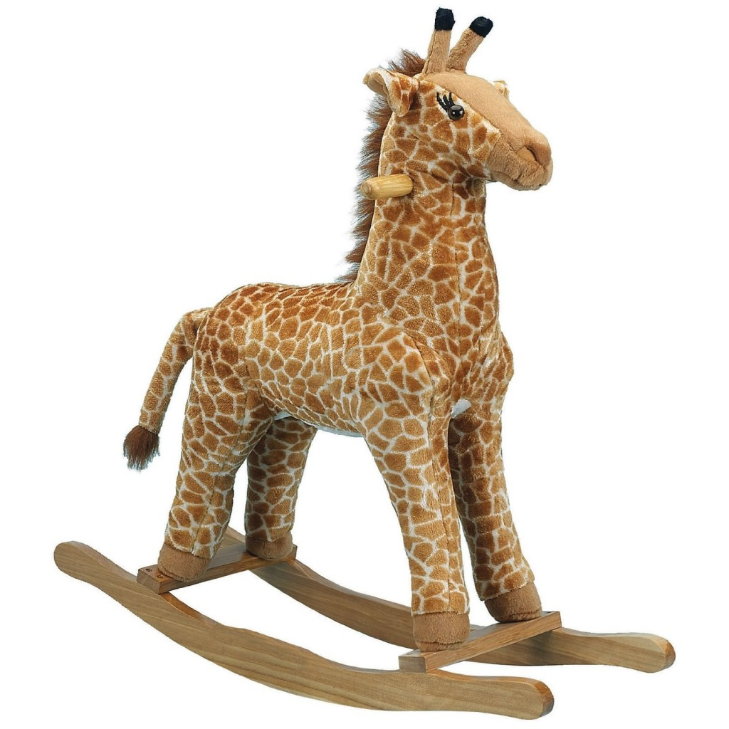 Giraffe Rocking Chair Cute Toy Giraffes For Kids