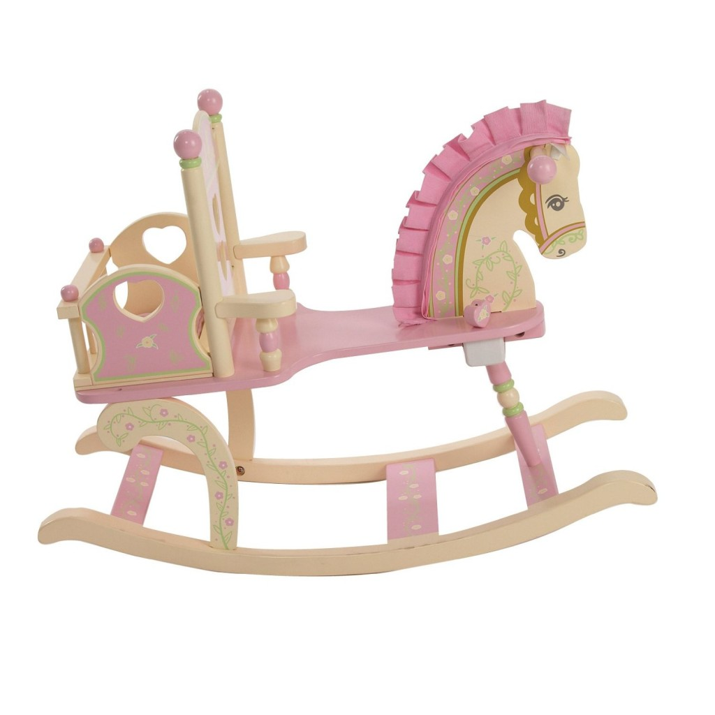 Girls Rocking Chair 12 Beautiful Wooden Rocking Horses For Kids