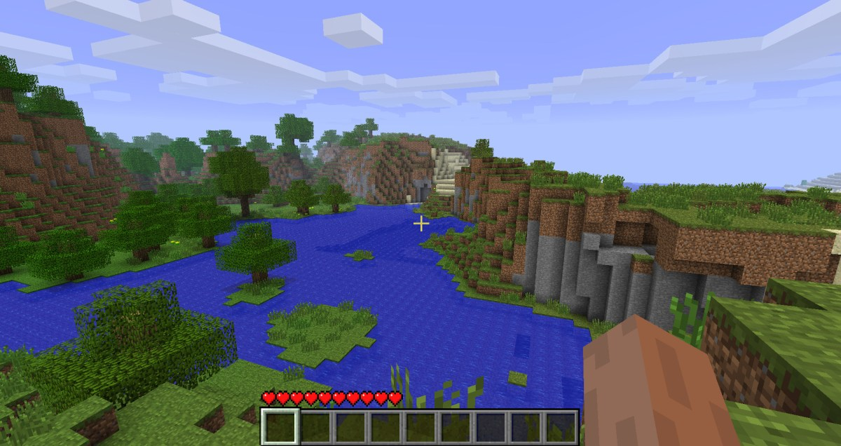 The Original Minecraft Title Screen World Seed Has Been Revealed ...