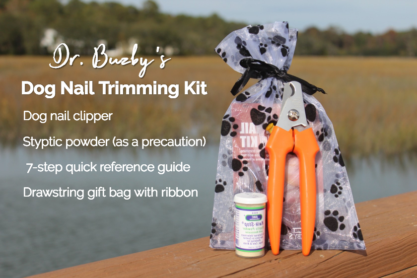 Dr. Buzby's dog nail trimming kit