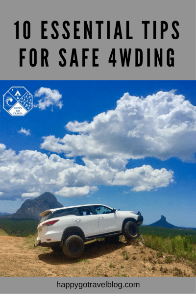 10 Essential Tips For Safe 4wding | 4x4 in Glasshouse Mountains