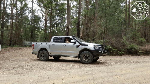 Watagans 4wd tracks | Ford Ranger in Watagans National Park