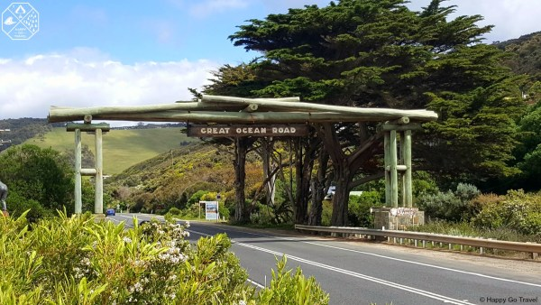 Great Ocean Road memorial arch