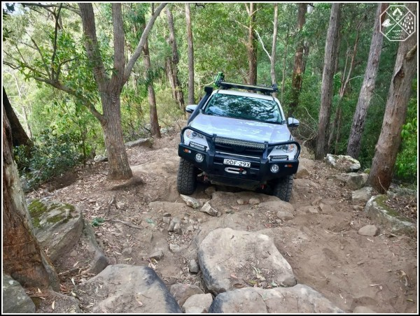 Toyota Fortuner - Offroad Whitemans Lane Watagans National Park