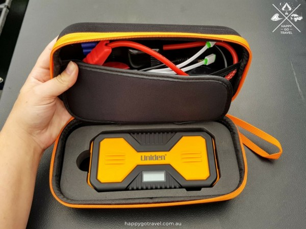 Uniden jump start kit in carry case