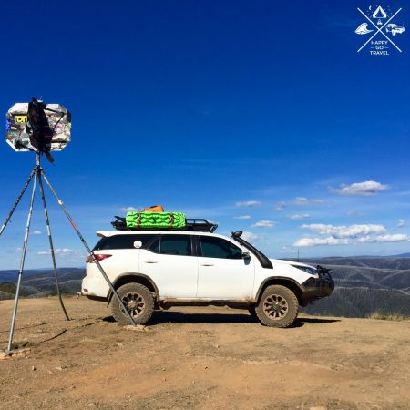 Toyota Fortuner 4wd at The Victorian High Country | Blue Rag Trig Point