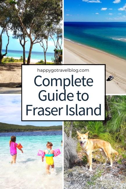 Happy Go Travel - Complete Guide to Fraser Island   #travel #Queensland #FraserIsland