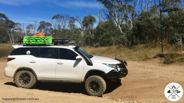 Toyota Fortuner Victorian High Country, Blue Rag Range Track suspension