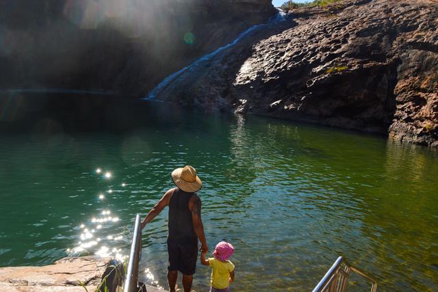 camping spots near Perth WA - Sepentine Falls