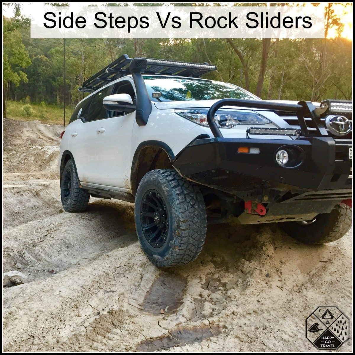 Side Steps Vs Rock Sliders