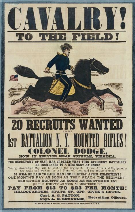 Recruiting_poster_New_York_Mounted_Rifles