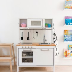 Play Kitchen Ikea Furniture For Small Hack A Scandinavian Inspired Happy Grey Lucky