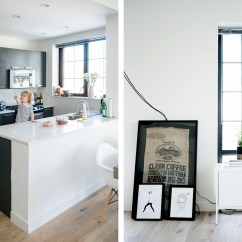 Ikea Stool Chairs Bar A Scandinavian, Industrial Interior In Nyc | Happy Grey Lucky