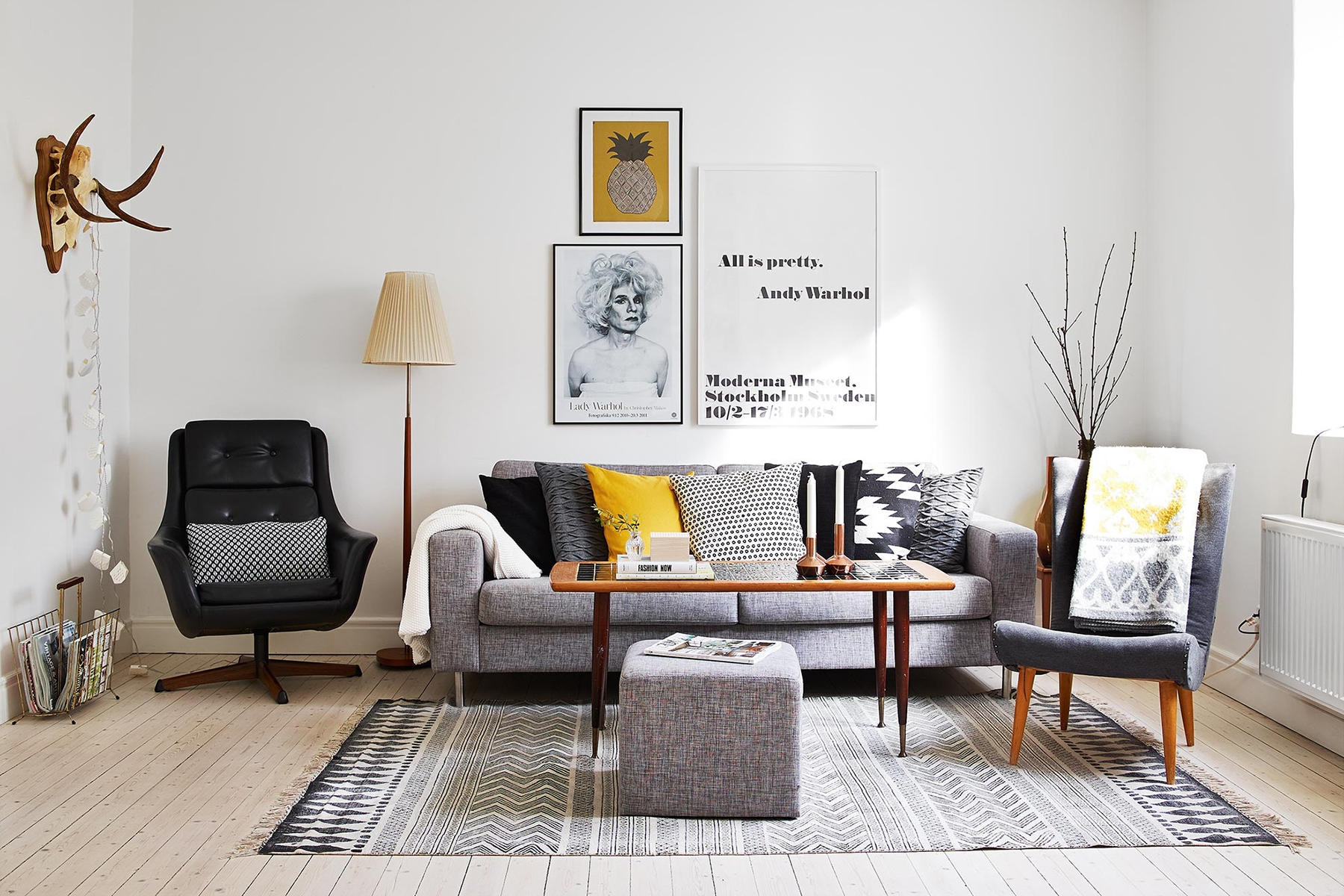 scandinavian living room furniture ideas tropical top 10 tips for adding style to your home happy grey with sofa
