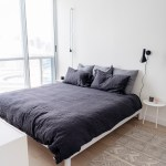 Condo Bedroom Tour A Minimalist Monochrome Space Happy Grey Lucky