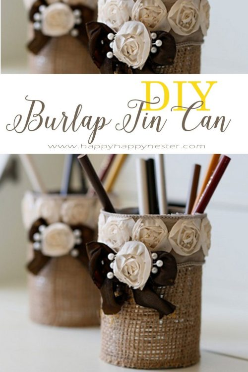 burlap pencil holder pin copy
