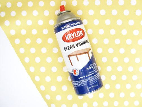 DIY craft spray