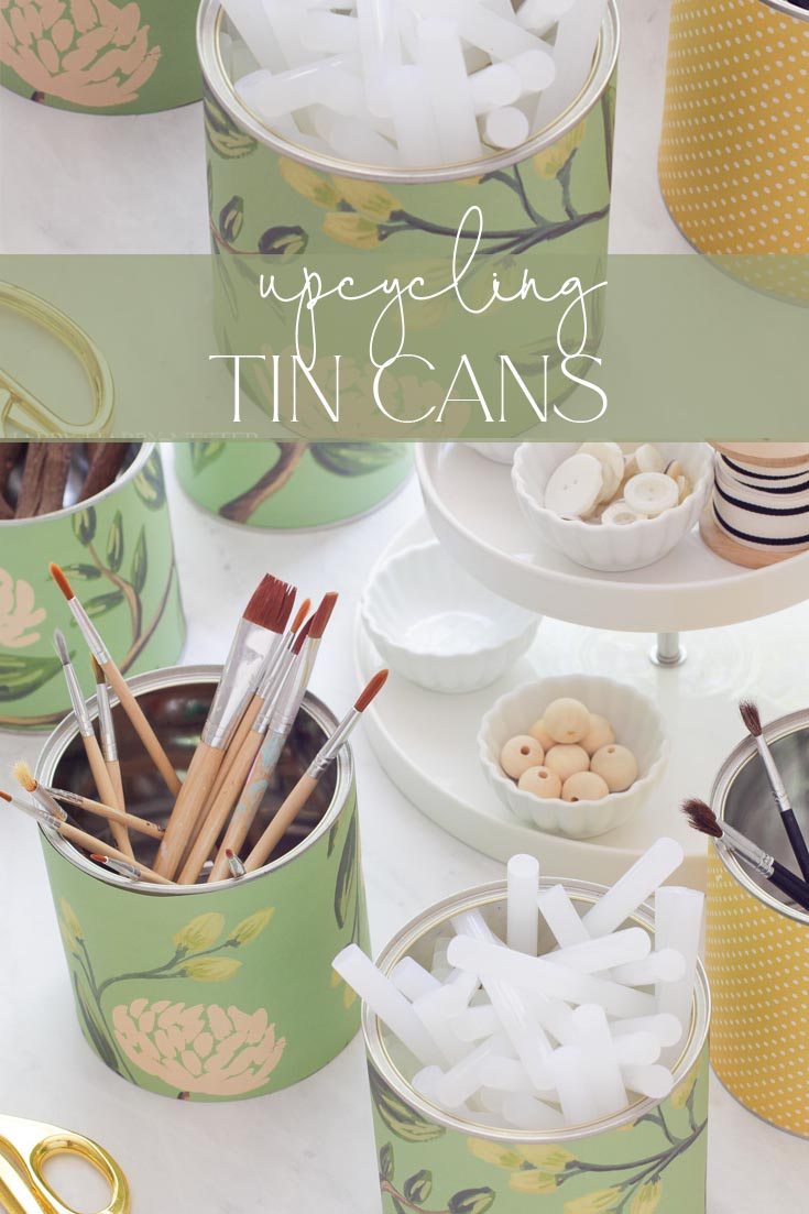 upcycling tin cans pin