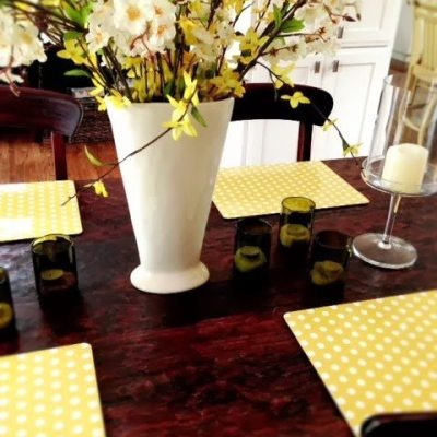 Spring Corkboard Placemats