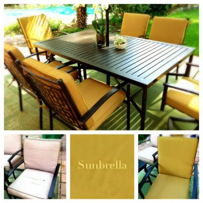 Sunbrella is the Best for Outdoor Cushions