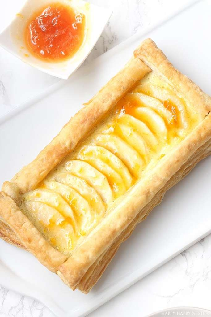 French Apple Custard Tart