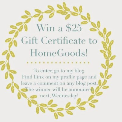 Home Good Giveaway!
